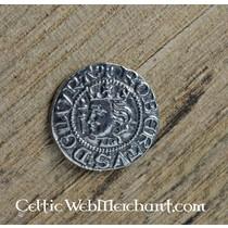 Middeleeuwse onderjurk Matilda, wijnrood