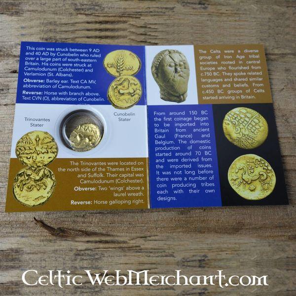 Keltisk mønt Cunobelin
