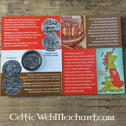 Viking coin Knut king of the Danelaw