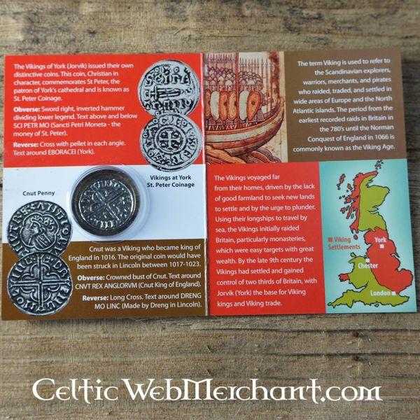 Viking Münze Knut König der Danelaw