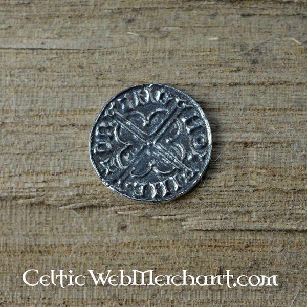 Vikingmunt Knut koning van de Danelaw