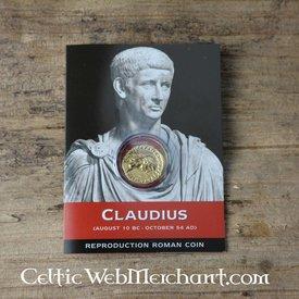 Roman aureus Klaudiusz paczka