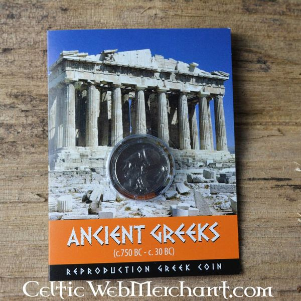 Athenian drakman med pegasus