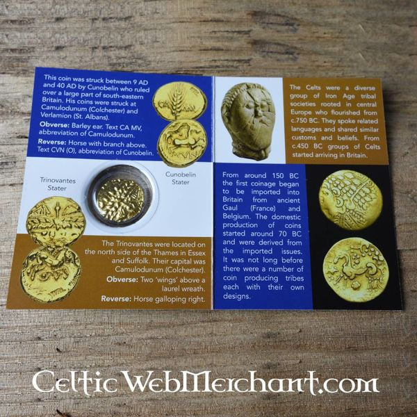 Keltisk mønt trinovanter
