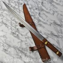 14th-15th century cutlery set bone grip, small