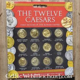 Roman coin set Aureus