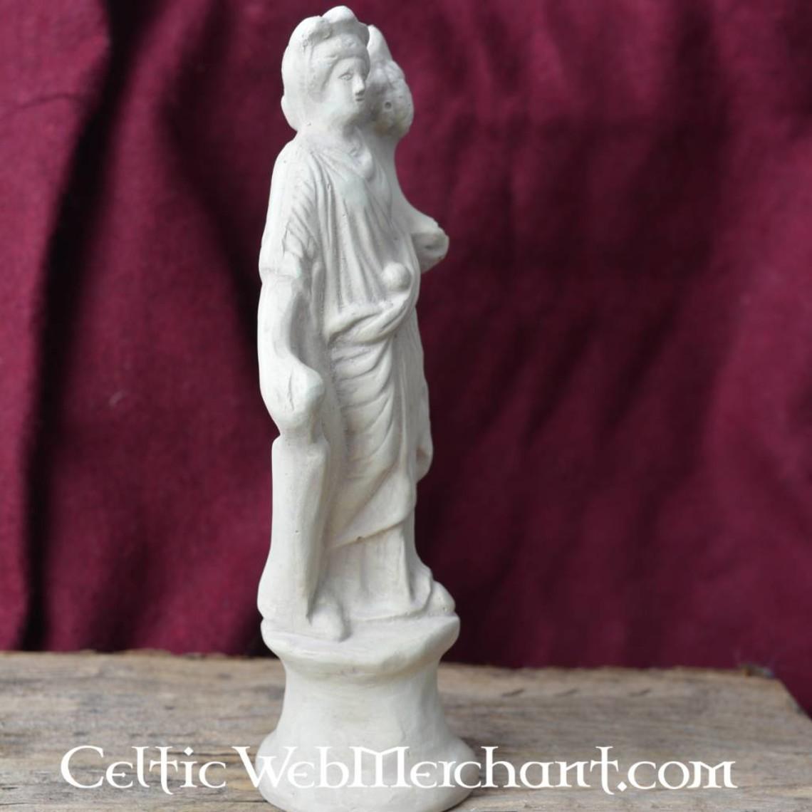 Statua votiva romana dea Fortuna