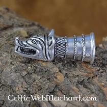 Wooden Viking dragen ser ret