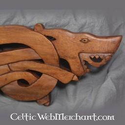 Osebergu rzeźba drewniane