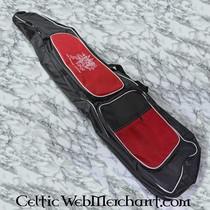 Red dragon Kunststof basket zwart