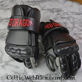 Red dragon Moderna fäktning handskar M