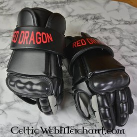 Red dragon Modern fencing gloves L
