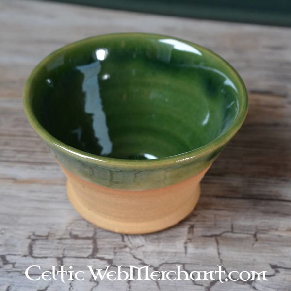 Tazón potable Medieval (greenware)