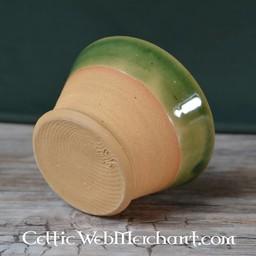 Historical drinking bowl (greenware)