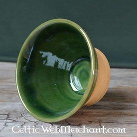 Historisk drikkeskål (greenware)