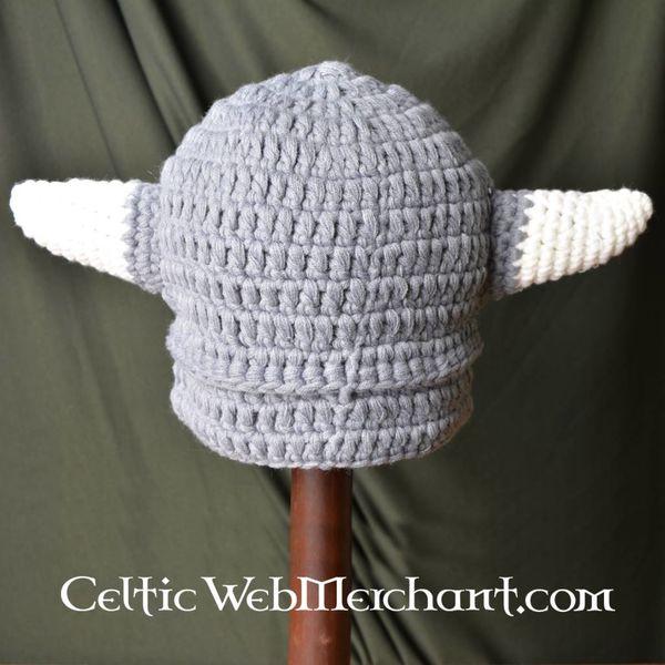 Gebreide vikingmuts L