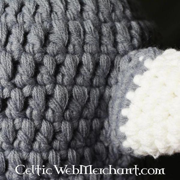 Knitted Viking cap S