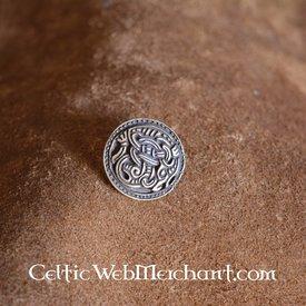 Round bältesbeslag Hordaland brons