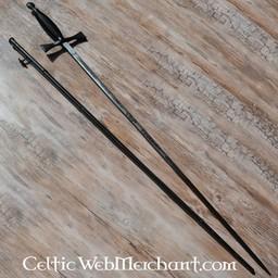 Ceremonialny miecz, czarna