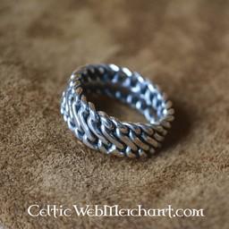 Anillo de plata de Viking
