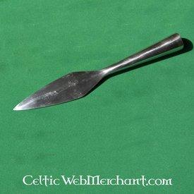 Fer de lance, début du Moyen-age, 22cm