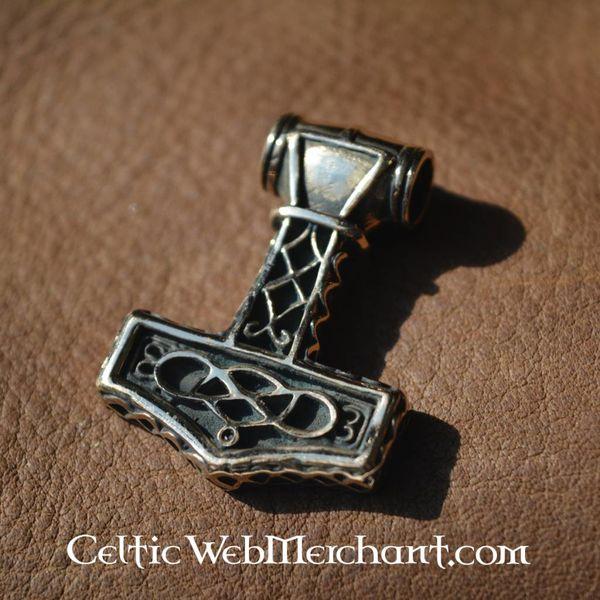 Marteau de Thor ödeshög, en bronze