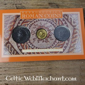 Romeins muntenpakket de invasies van Brittannië