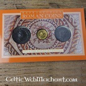 Romersk mønt pack besættelse af Storbritannien