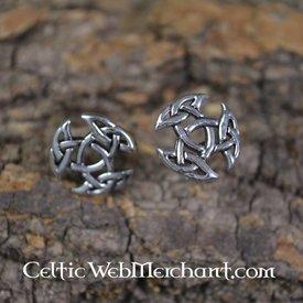 Trinity earstuds, srebro