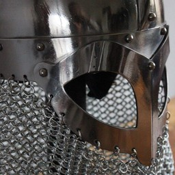 Viking helmet with chainmail