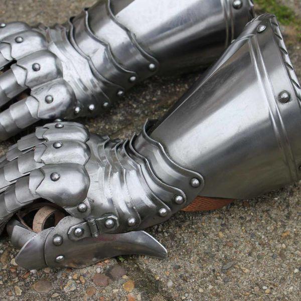 Gothic rycerz rękawice