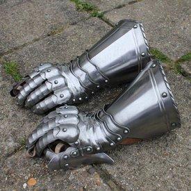 Gotiska Knight handskar