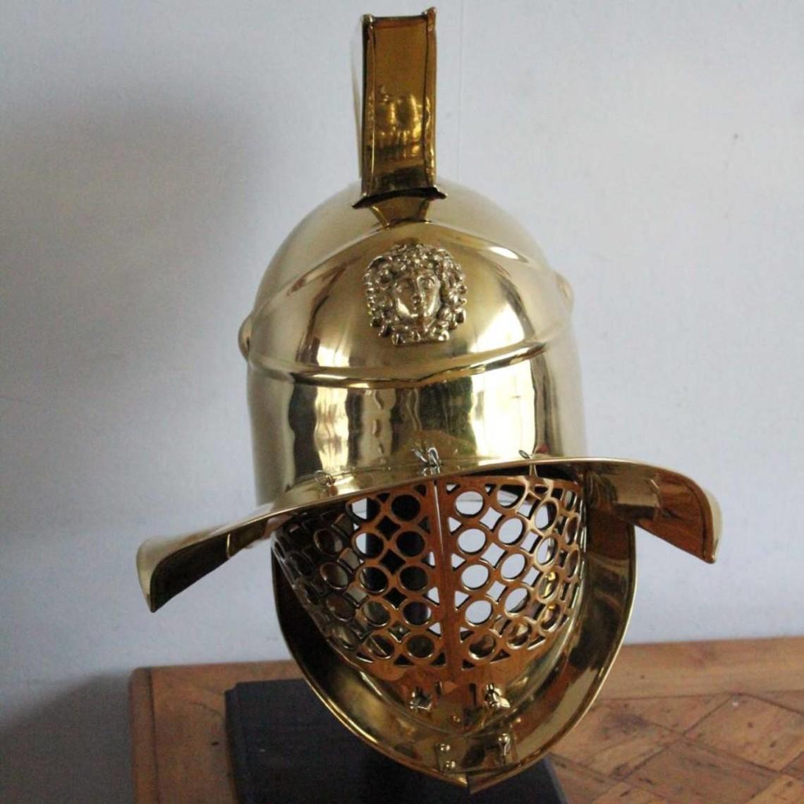 Deepeeka Casco gladiador Murmillo