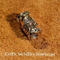 Viking skæg perle bronze