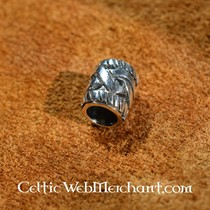 Cordón de la barba de plata con nudo celta