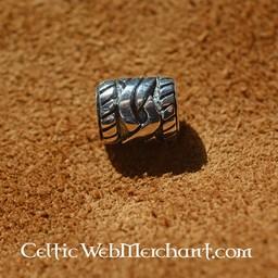 Silver skägg pärla med Celtic knut