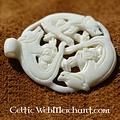 Bone pendant wild hunt