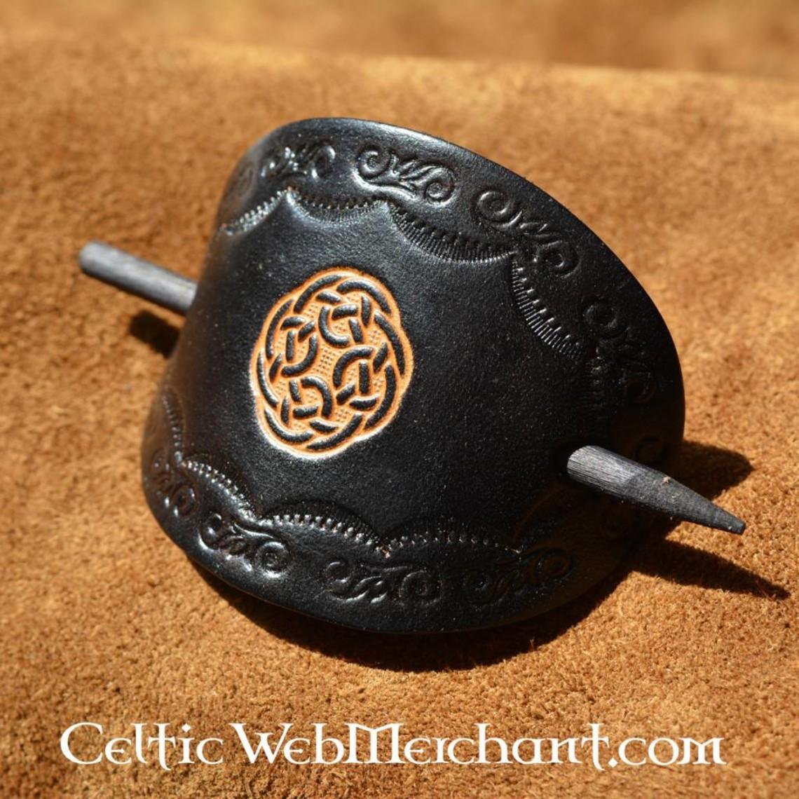 Horquilla Celta Brigit negro