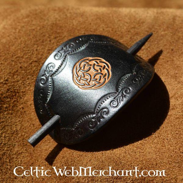 Celtic hairpin Brigit black