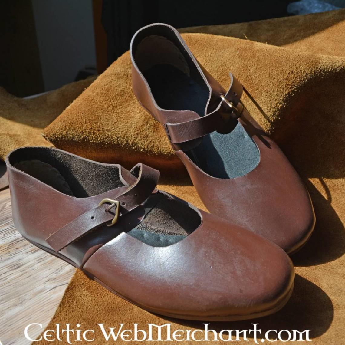 Ulfberth Norman veces zapato con hebilla