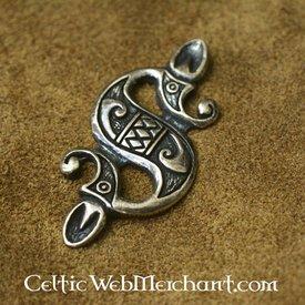 pingente de cavalo-marinho Celtic