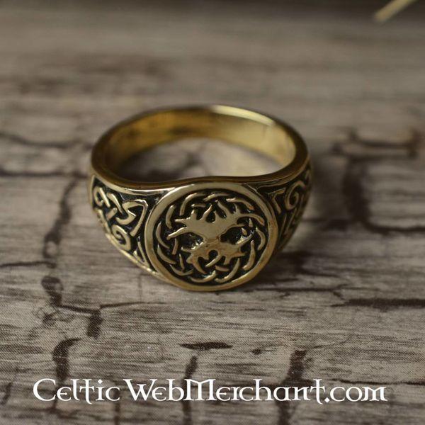 Anel de árvore de vida celta