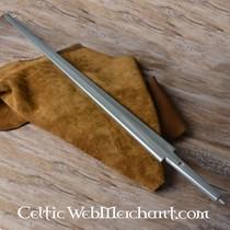 Red dragon Kunststof zwaardkling slagzwaard zilver