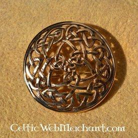 Round Celtic broscher