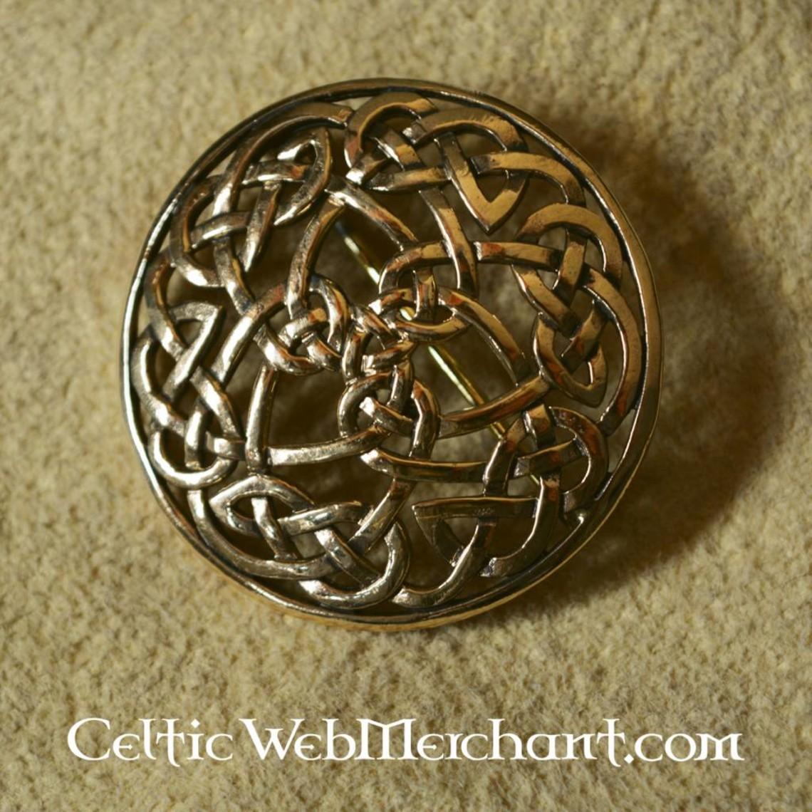 Round Celtic Brosche