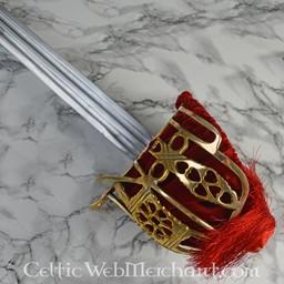 Epée Broadsword à garde en panier, 1828