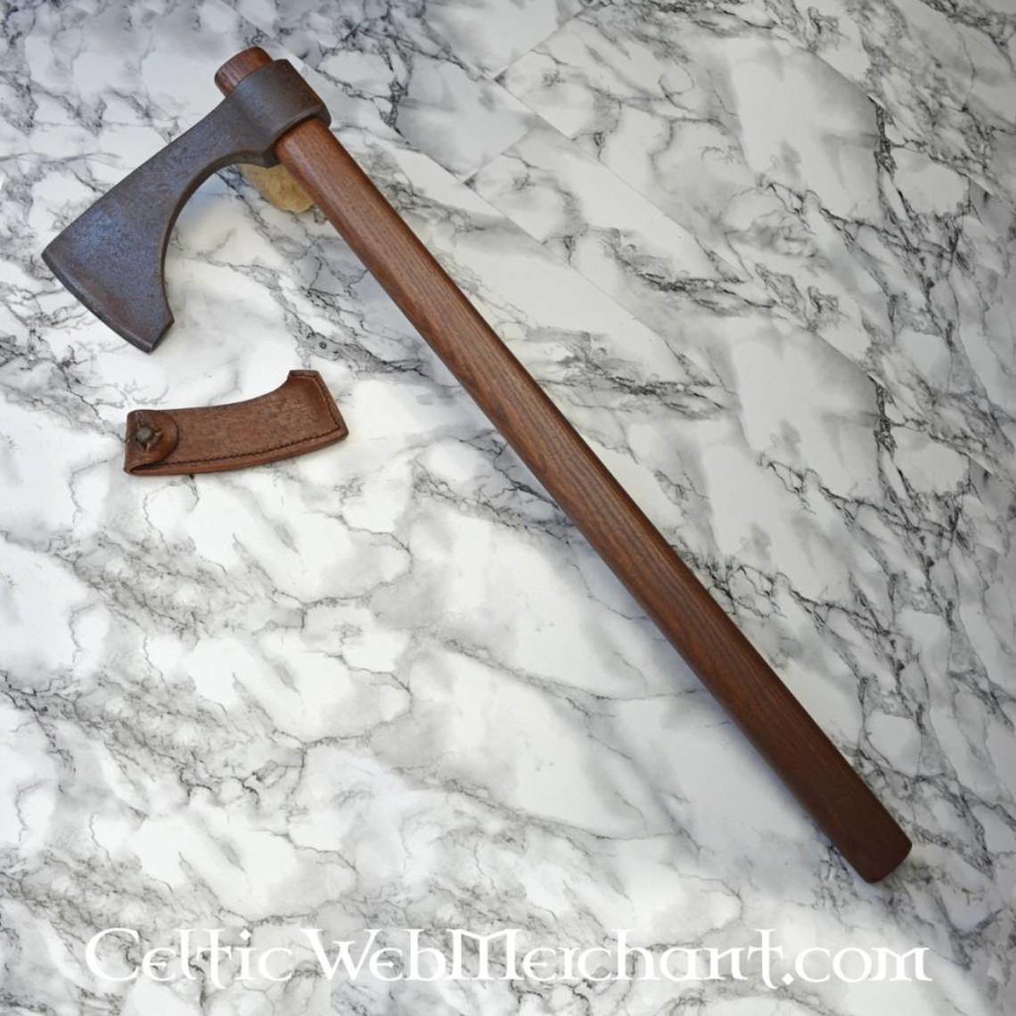 Hanwei Kurze Bärtige Axt, antiqued