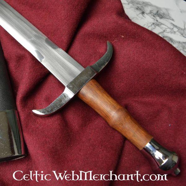 Deepeeka Kort sværd med bøjet cross-vagt