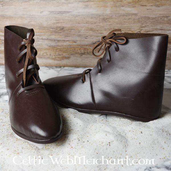 Ulfberth Middeleeuwse enkellaarzen met schoennagels