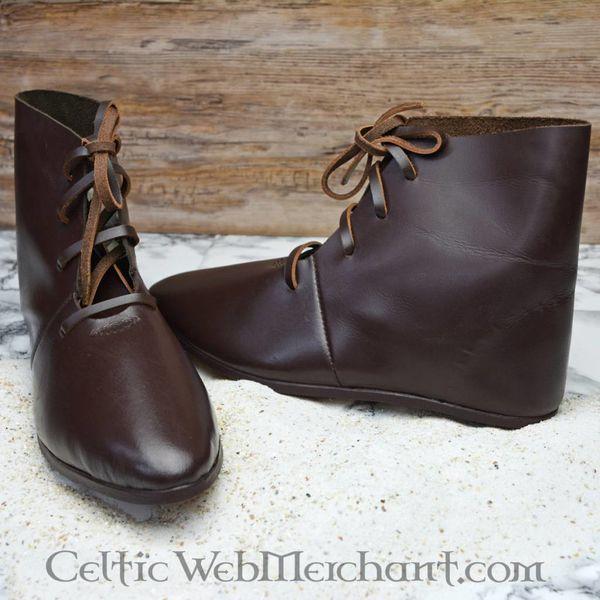 Ulfberth Mittelalterliche Knöchelhohe Schuhe mit Schuhnägeln